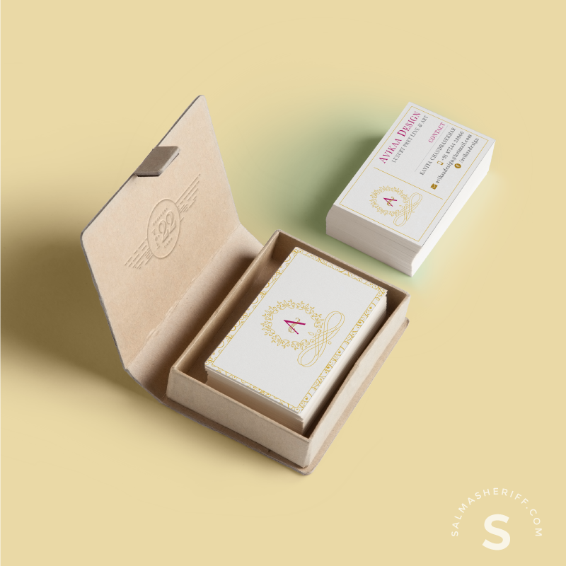 Avikaa Business Card - Salma Sheriff