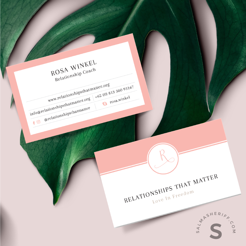 Relationships that Matter - Business Card - Salma Sheriff