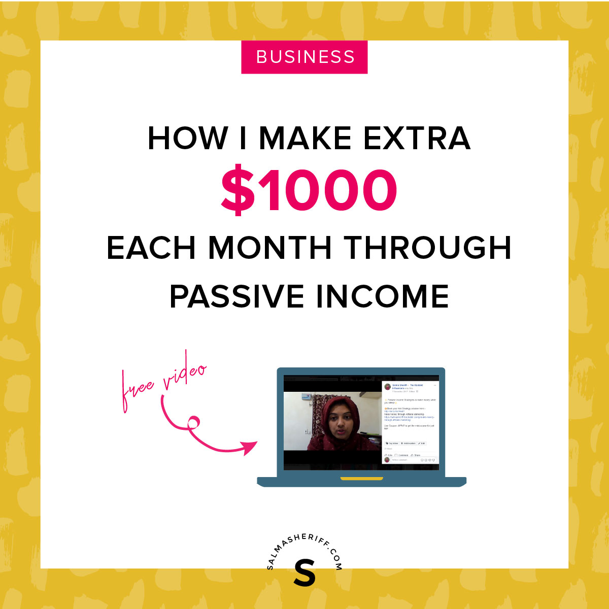 How I make $1000 through Passive Income