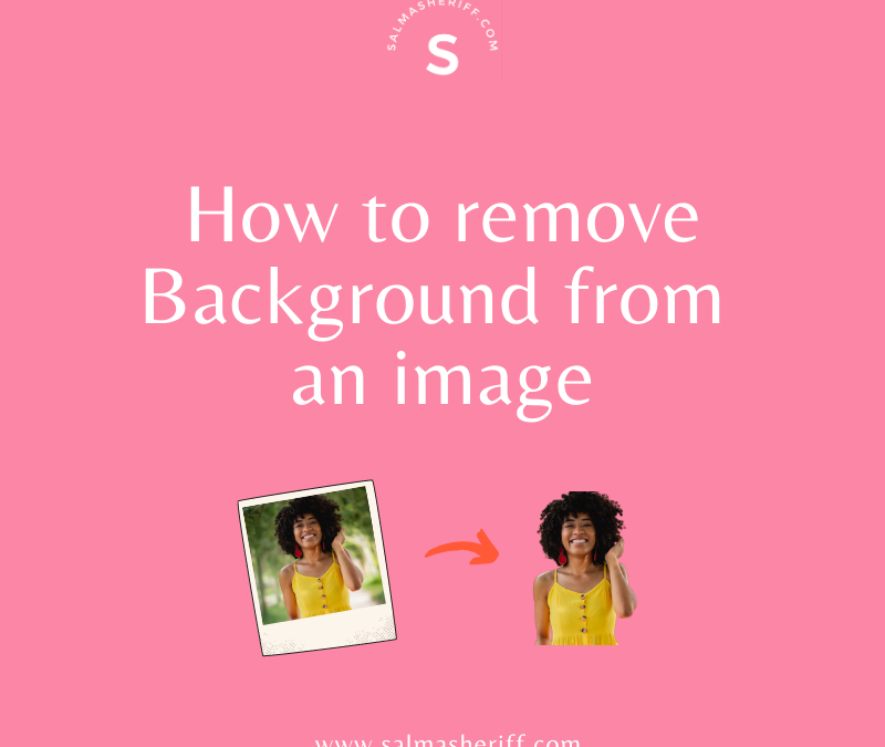 How to Remove Background from an image in less than 5 seconds
