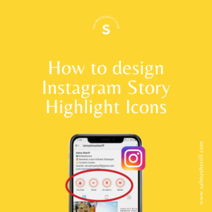 How to Create Instagram Story Highlight Icons using Canva