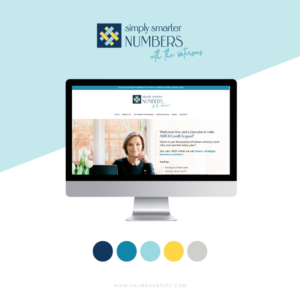 Brand Identity and Website Design for Simply Smarter Numbers